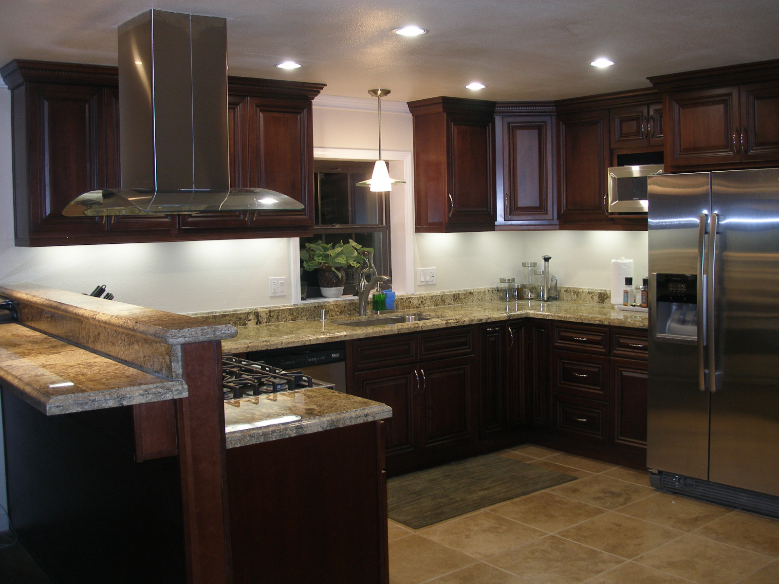 Kitchen remodeling brad t jones construction for Kitchen remodel designs pictures